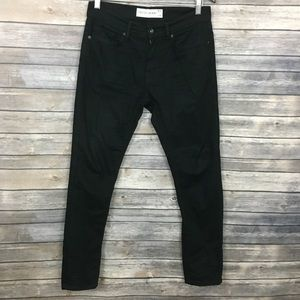 Topman Black Stretch Skinny Jeans